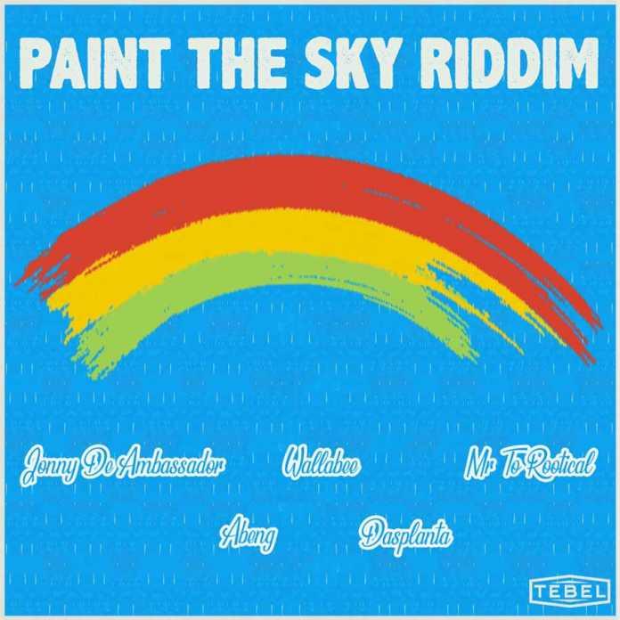 Paint The Sky Riddim album by Tebel Crew