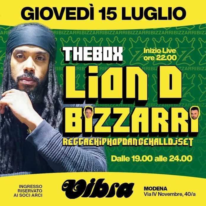 Lion D + Bizzarri live showcase